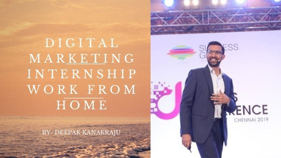 Digital marketing internship work from home
