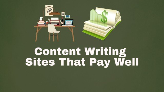 content writing sites that pay well